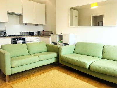 Photo for Homely Edinburgh City Center 1BDR Ground Floor Flat with WiFi and Parking