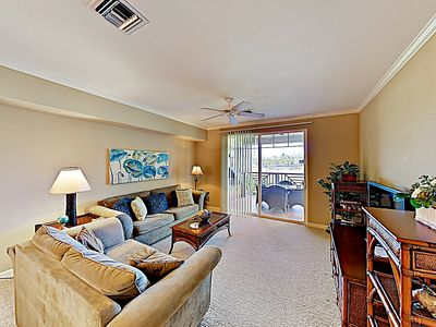 Living Room - Welcome to Waikoloa Beach Villas! This condo is professionally managed by TurnKey Vacation Rentals.