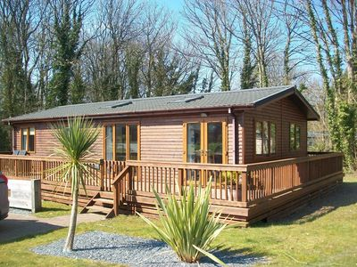 Photo for Wooden Lodge in Tranquil Surroundings with Modern Amenities & outdoor Decking