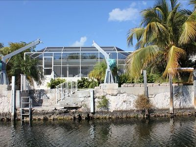 Photo for The Palms, a Fabulous 3/2 on the Water with a Screened in Pool