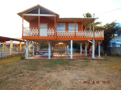 Photo for Furnished House Villa at Beautiful Combate Beach/National Wild Life Refuge