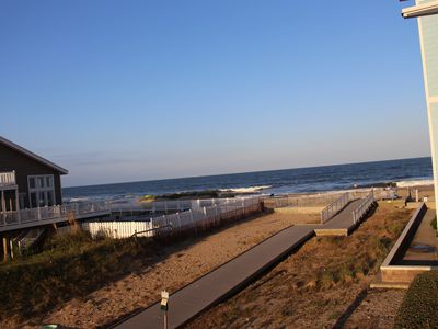 Photo for Beach view, 2 private balconies, condo with tons of amenities!