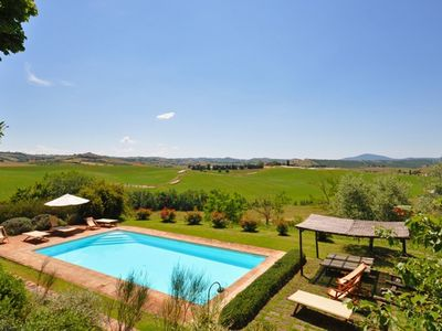 Photo for Nice apartment for 5 guests with WIFI, pool, TV, panoramic view and parking