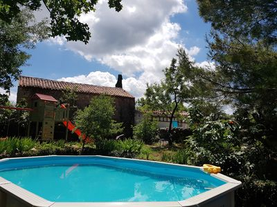 Photo for Kids and Pets friendly house with large fenced garden-peace and shade, beach 1km
