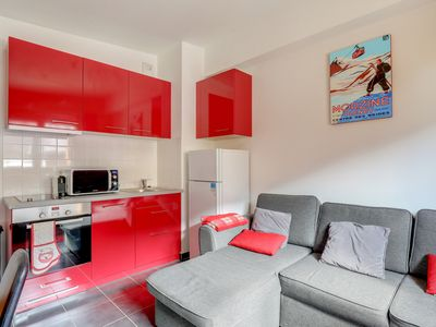 Photo for Morzine center, new apartment 2 bedrooms 4 people - Ski IN / Ski OUT