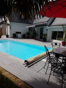 Photo for Large house in a quiet location near the sea with private pool La Baule
