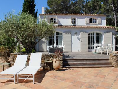 Photo for Charming villa in the private domain of Cap Bénat