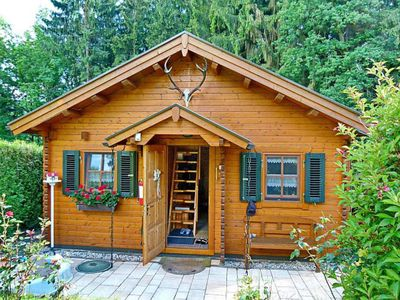 """Photo for High quality non-smoking log cabin - Ferienblockhaus- """"Laura"""" in the Erzgebirge"""