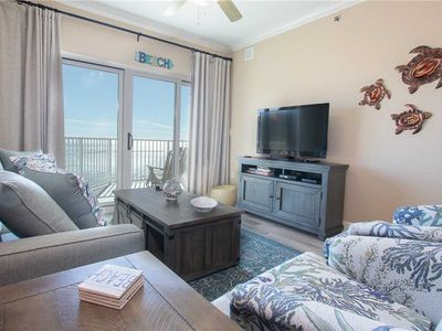 Photo for Seawind 901: 3 BR / 2 BA condo in Gulf Shores, Sleeps 9