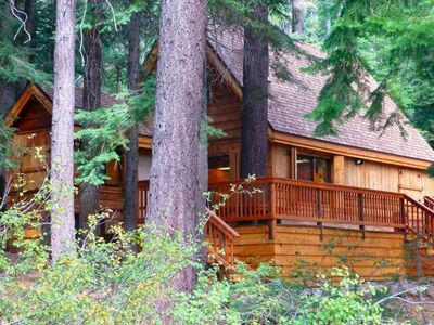 Photo for West Shore Lake Tahoe: Charming, Cozy Cabin. Family & Pet Friendly. Hot Tub.WiFi