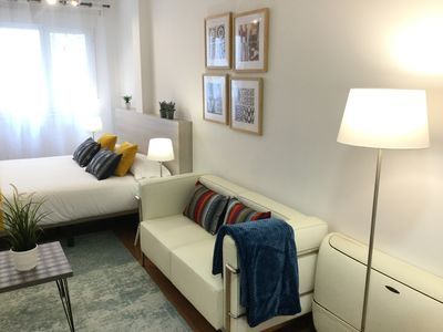 Photo for Ideal studio for couples. Wifi. Next to Callao.Plaza Luna 1 by Forever Rentals