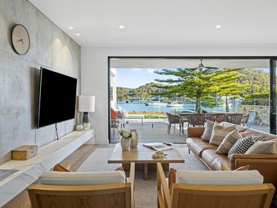 Photo for Le Booker Beachfront - This villa boasts a stunning plunge pool overlooking the waterfront
