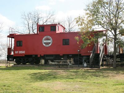 Photo for Stay In a Train Caboose with Your Little Ones or for Romance and Novelty!