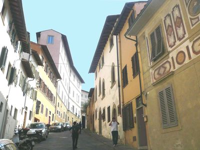 Casa Giannina in the center of Florence, a stone's throw from Ponte Vecchio