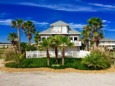 Photo for Pelican Landing-A tropical oceanfront luxury retreat with Beach Gear, BBQ Grill!