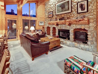 Photo for Rustic Silver Lake Condo With Vaulted Ceilings, Gourmet KItchen, and Fireplace Walking Distance to D