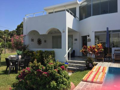 Photo for Beach House in Asia - Walk to Boulevard and Cayma Beach!