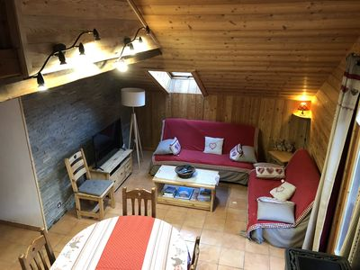 Photo for 3 room duplex apartment 3 bedrooms Serre Chevalier