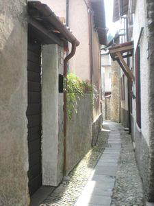"""Photo for """"Portico""""  Lake Como - medieval tower in a picturesque village"""