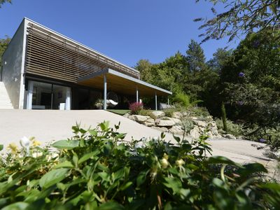 Photo for Contemporary 5-star villa Design & Nature ® Spa Private beach Gorges du Tarn