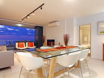 Photo for The Bantry Bay - modern upmarket apartment, in windfree zone, pool
