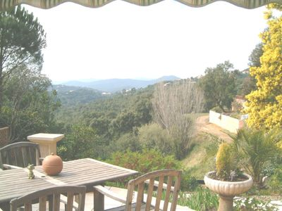 Photo for French Riviera Villa with Breathtaking Views of the Valcros Valley