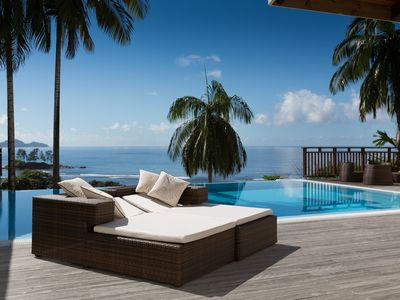 Photo for VILLAS PALM ROYAL - LUXURY VILLA QUEEN WITH A PRIVATE POOL OCEAN VIEW