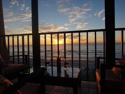 Photo for View Spectacular Sunsets from your Balcony overlooking Indian Rocks Beach.