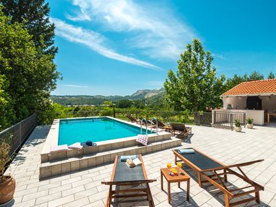 Photo for Serenety Villa Divina with exceptional privacy and heated pool