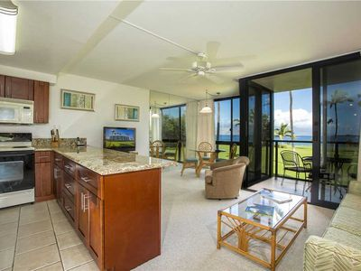Photo for Ocean Front one bedroom condo at Kihei Surfside, located in south Kihei. #212