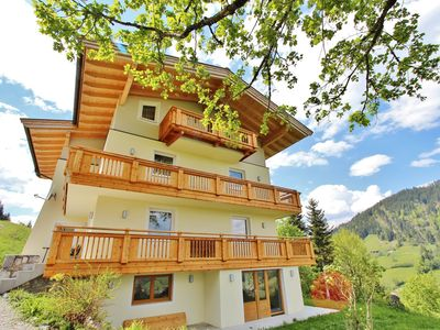 Photo for A wonderful apartment with a unique view of the magnificent Wildschönau.