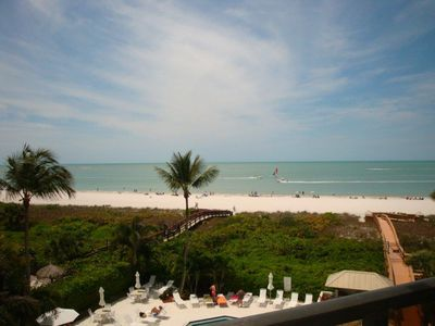 Photo for Beachfront Condo with Spectacular Sunsets