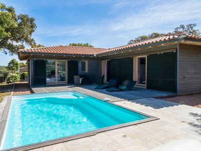 Photo for Villa closed to beaches and mountain with heated pool