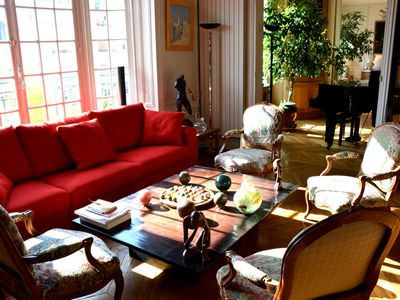 Photo for Luxury 3 Bedroom Apartment with Piano in Paris