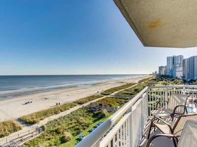 Photo for Corner Glass Oceanfront Unit With Spectacular Views