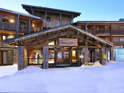Photo for Beautiful Résidence with spa, right on the Arc 2000 pistes