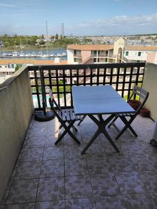 Photo for CHharmant T2 mezz in the secured residence La Brigantine with Pool and Tennis