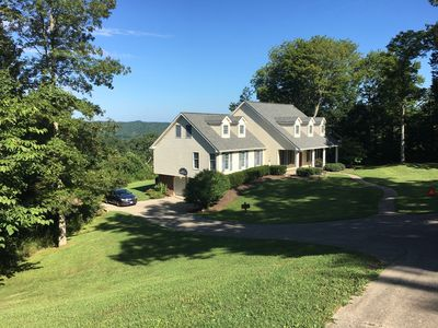 Photo for LOOK OUT VIEW - FAMILY FRIENDLY, HOT TUB,POOL TABLE,FUSE BALL, & MORE!