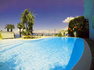 Photo for VillaBiancaSorrento - Amalficoast-Large Terraces - Gorgeous View - Private Pool