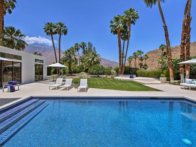 Photo for Luxurious Palm Springs Home w/ Park-Like Grounds!