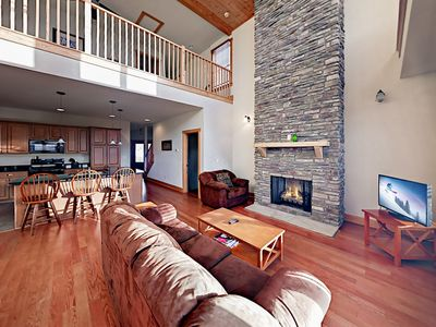 Photo for Corner Unit w/ Mountain Views & Heated Indoor Pool, Next to Wolf Ridge  Lift
