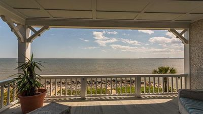 Photo for Ocean & Beach Front Cottage with Sweeping Porches Perfect for Large Groups