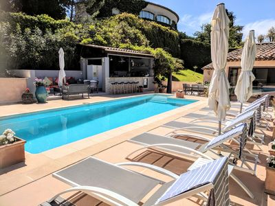 Photo for Holiday Villa Cannes with pool sleeps 8