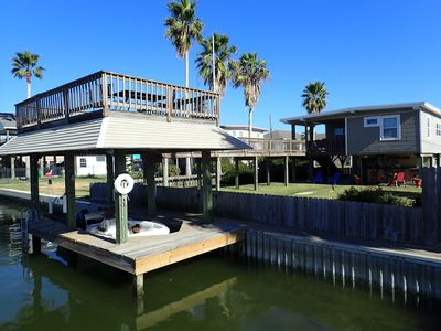 Photo for WEST END CANAL HOUSE - AFFORDABLE WATERFRONT VACATION !!!!