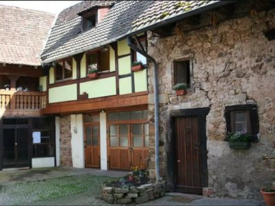 Photo for Charming cottage 13 people in Orschwihr, Alsace