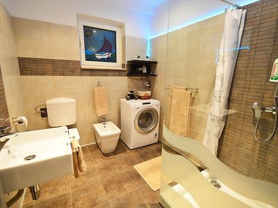 Photo for Apartment in the center of Pobri with Parking, Internet, Washing machine, Air conditioning (274859)