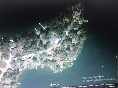 Photo for Silver Lake ~ East Facing Beach Front ~ 200' Of Frontage ~ Supper Club By Boat