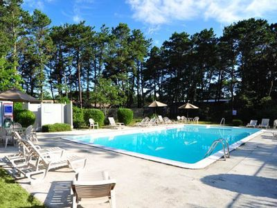 Photo for Sweet Cape retreat w/ shared pool - close to ocean beaches, ponds & hikes!