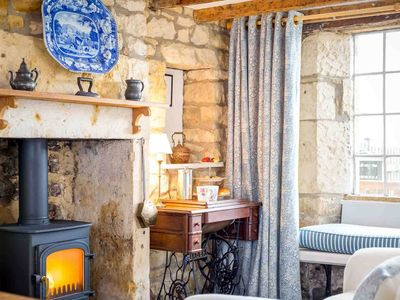 Photo for Lammas Cottage is a Cotswold stone cottage, built for the weavers who worked in the silk mills