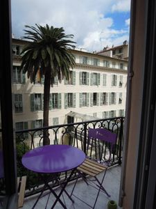 Photo for Nice center, Apartment with 2 balconies, near to old city and beach